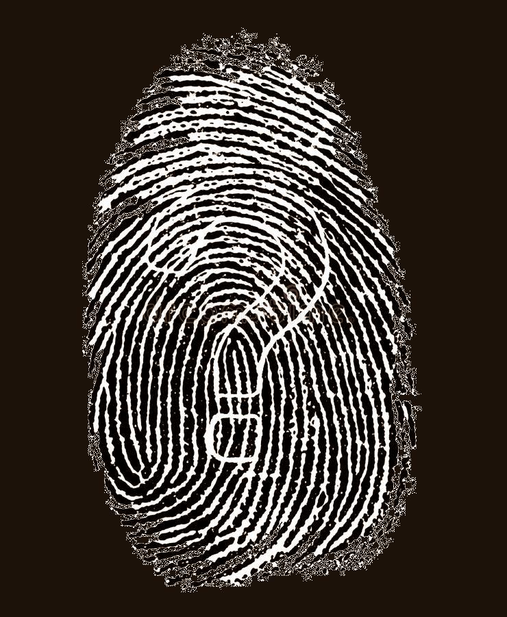 Social Engineering_CEO Fraud_Fingerabdruck mit Fragezeichen